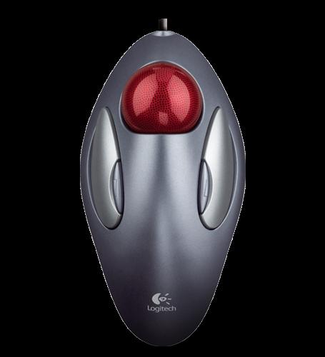 Мышь наоборот: Logitech M570 - 12