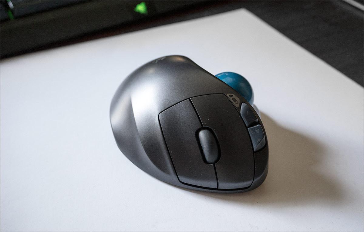Мышь наоборот: Logitech M570 - 3