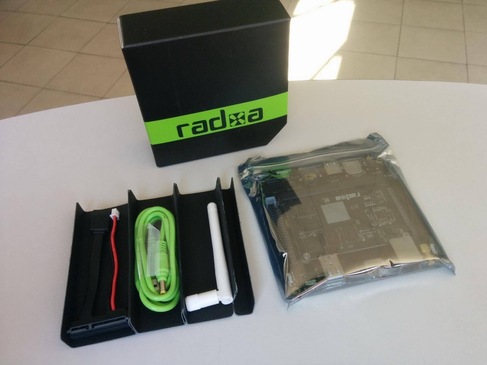 Обзор отладочного комплекта Radxa Rock 2 Square и SoM - 3