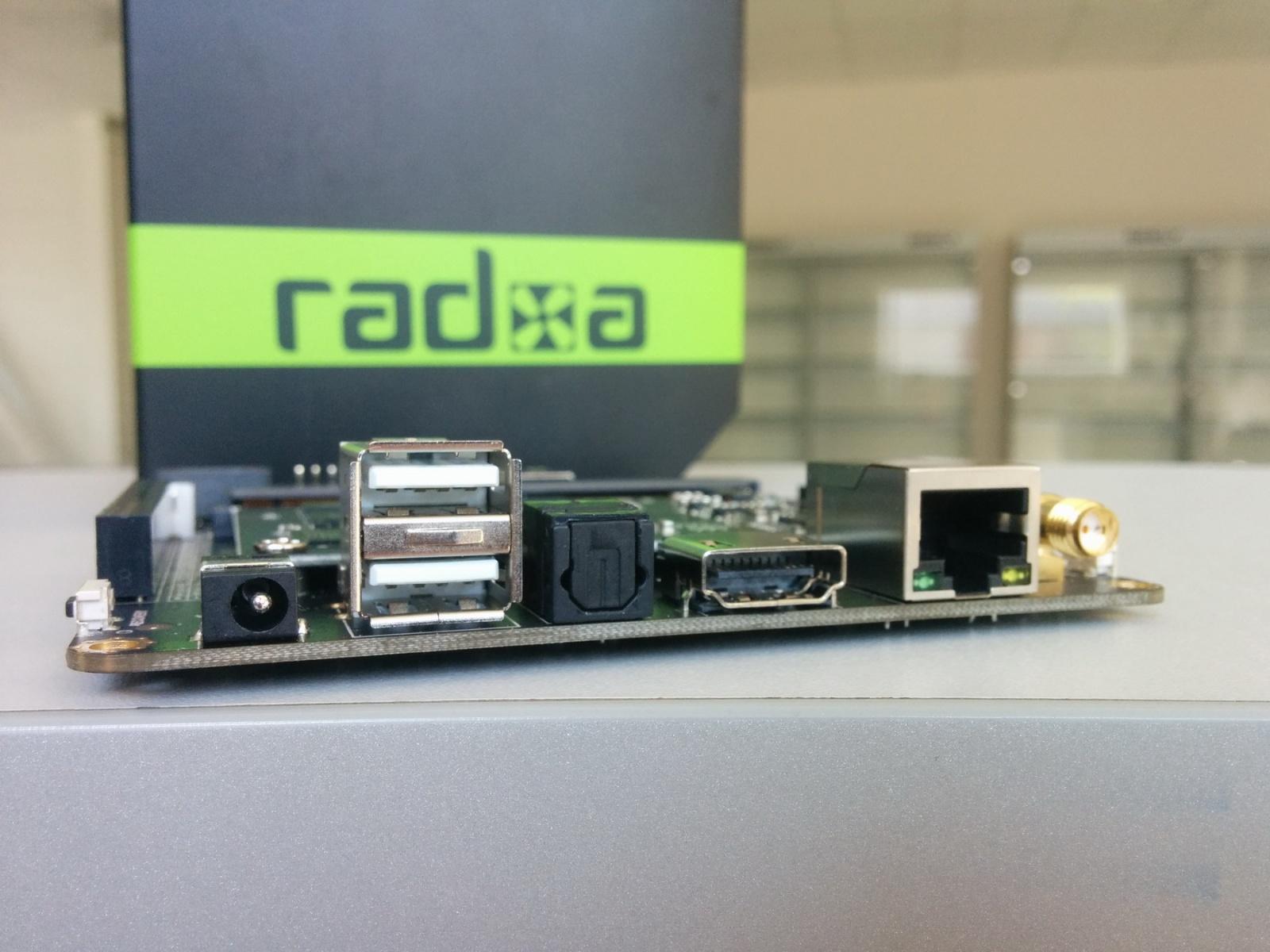 Обзор отладочного комплекта Radxa Rock 2 Square и SoM - 9