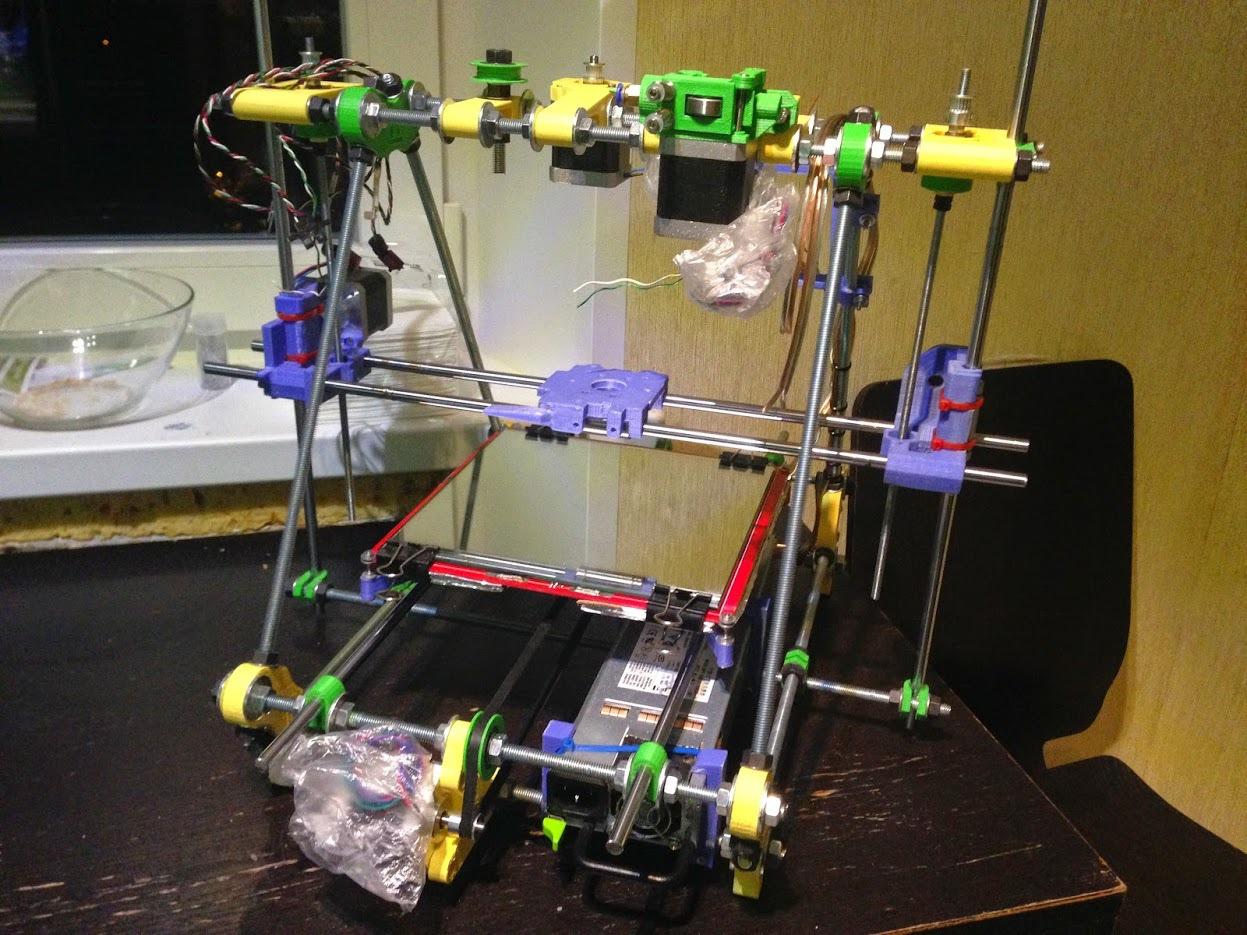 От РепСтрапа к РепРапу или как построить второй 3D-принтер и исправить в нем косяки первого - 10