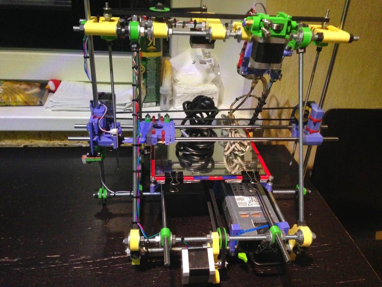 От РепСтрапа к РепРапу или как построить второй 3D-принтер и исправить в нем косяки первого - 11