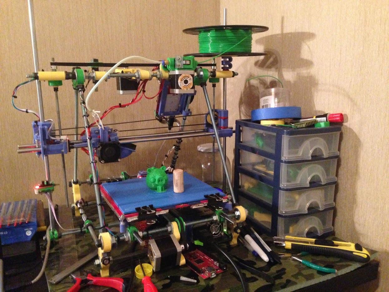 От РепСтрапа к РепРапу или как построить второй 3D-принтер и исправить в нем косяки первого - 15