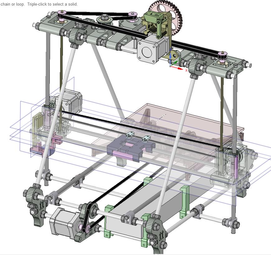 От РепСтрапа к РепРапу или как построить второй 3D-принтер и исправить в нем косяки первого - 6