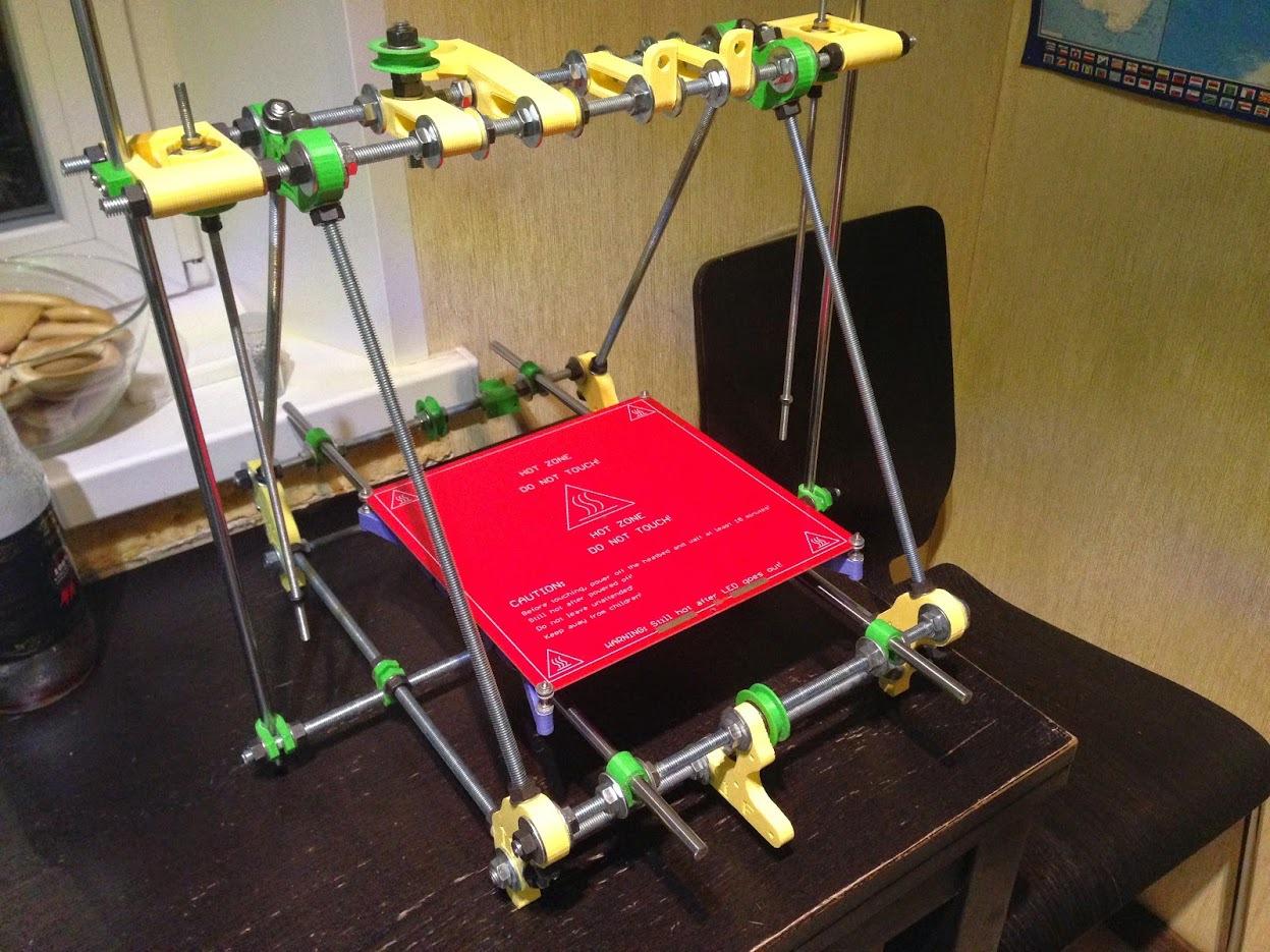 От РепСтрапа к РепРапу или как построить второй 3D-принтер и исправить в нем косяки первого - 9