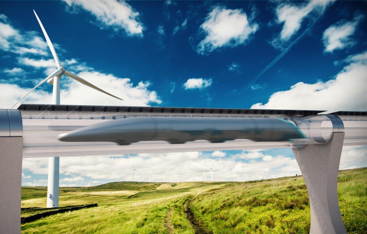 Транспортная система будущего Hyperloop от Илона Маска может быть бесплатной для пассажиров - 1