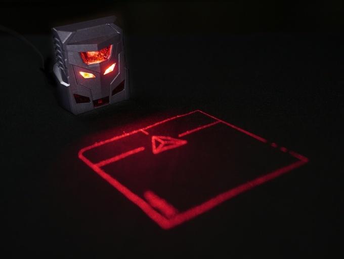 Odin: лазерная мышь + тачпад - 1