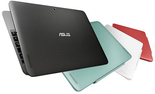Гибридный компьютер Asus Transformer Book (T100HA) работает под управлением ОС Windows 10