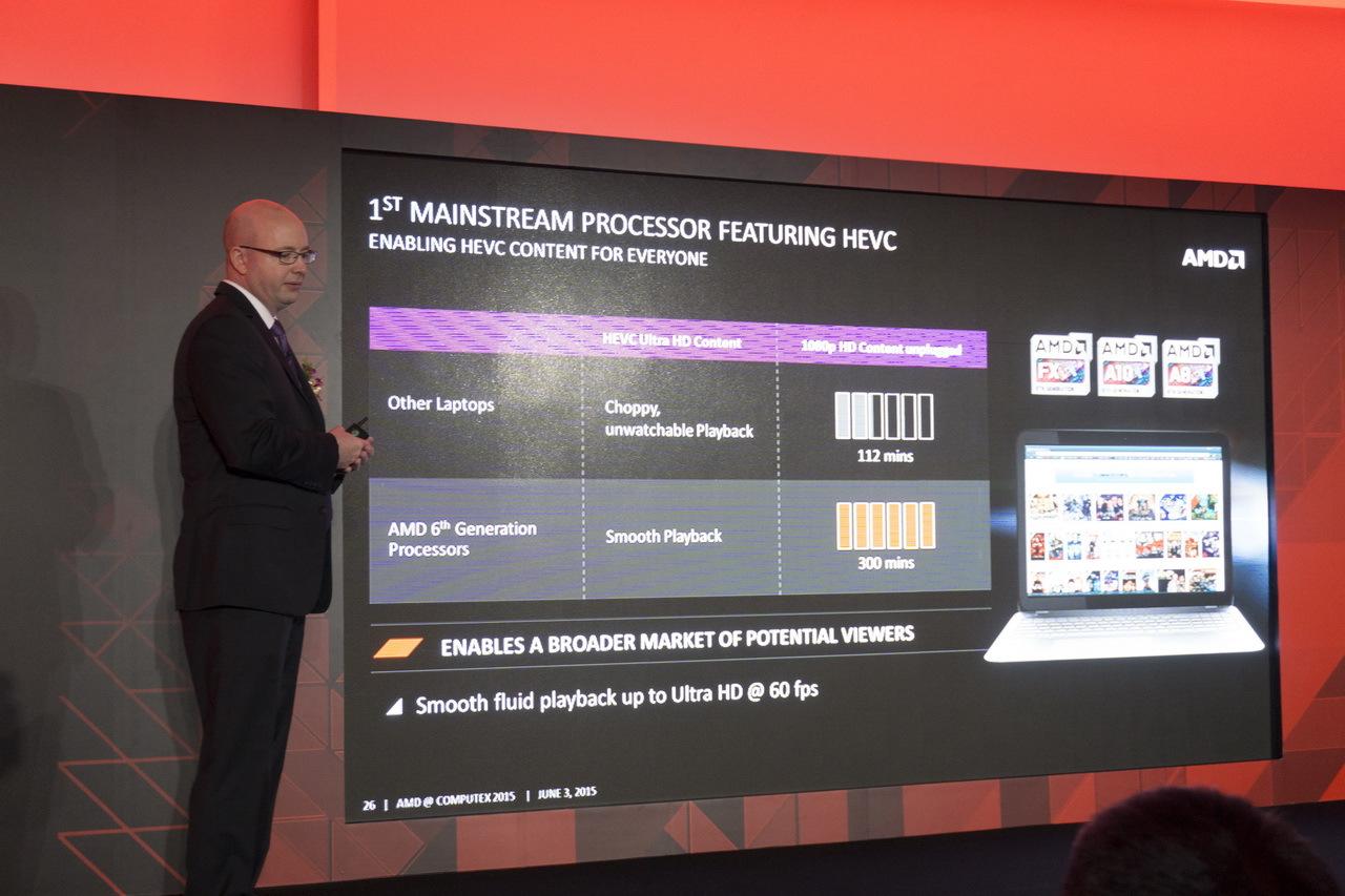 AMD на Computex 2015: APU шестого поколения готовы взбодрить портативные ноутбуки - 10