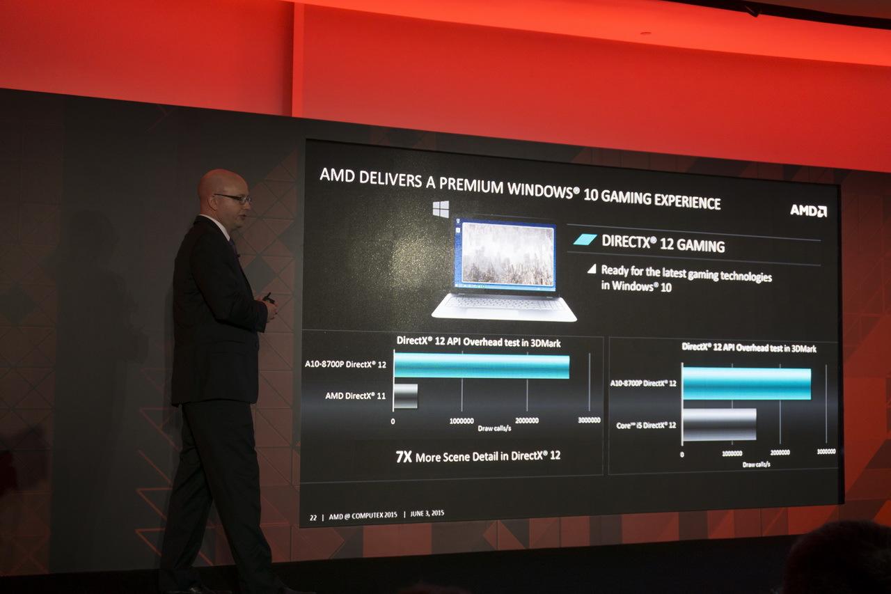 AMD на Computex 2015: APU шестого поколения готовы взбодрить портативные ноутбуки - 11