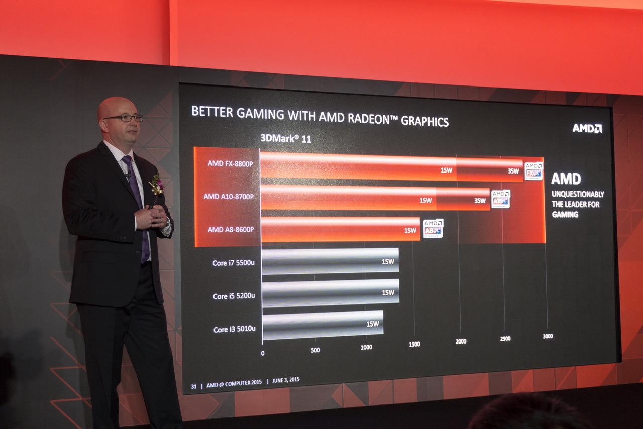 AMD на Computex 2015: APU шестого поколения готовы взбодрить портативные ноутбуки - 12