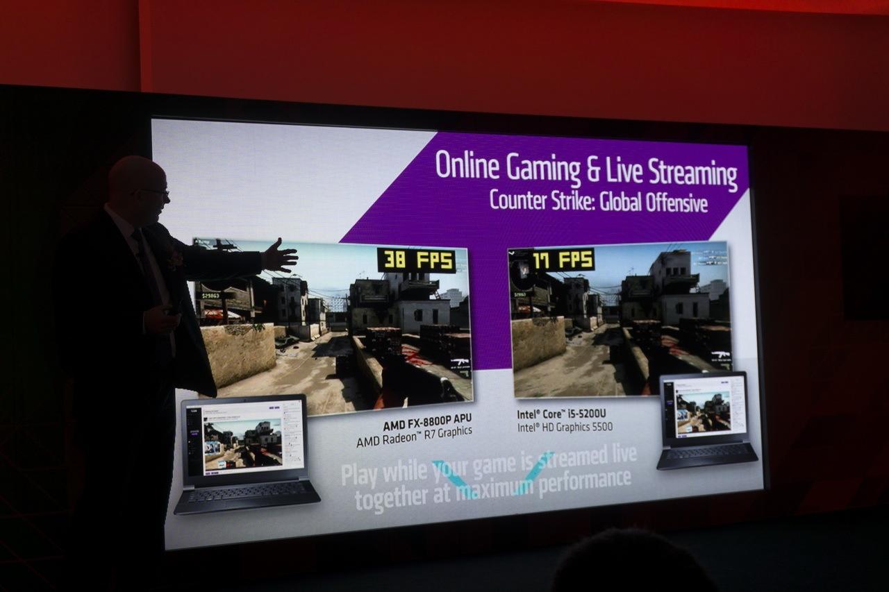 AMD на Computex 2015: APU шестого поколения готовы взбодрить портативные ноутбуки - 13