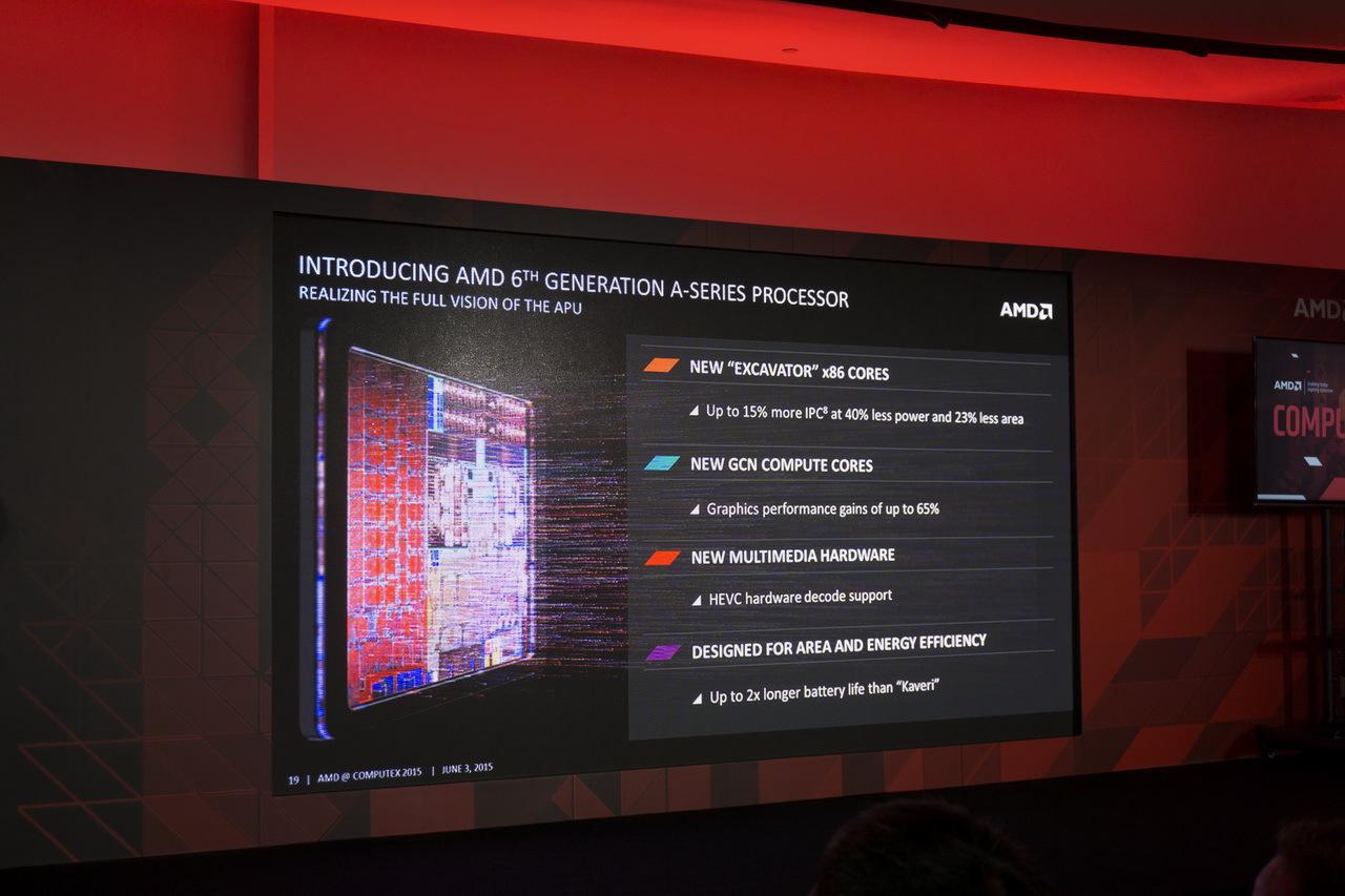 AMD на Computex 2015: APU шестого поколения готовы взбодрить портативные ноутбуки - 7