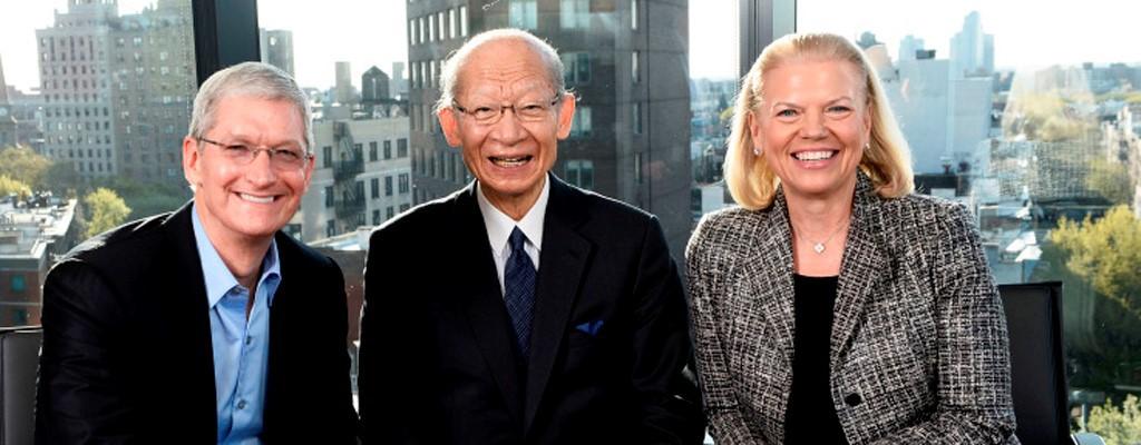 IBM и Apple позаботятся о японских пенсионерах - 1