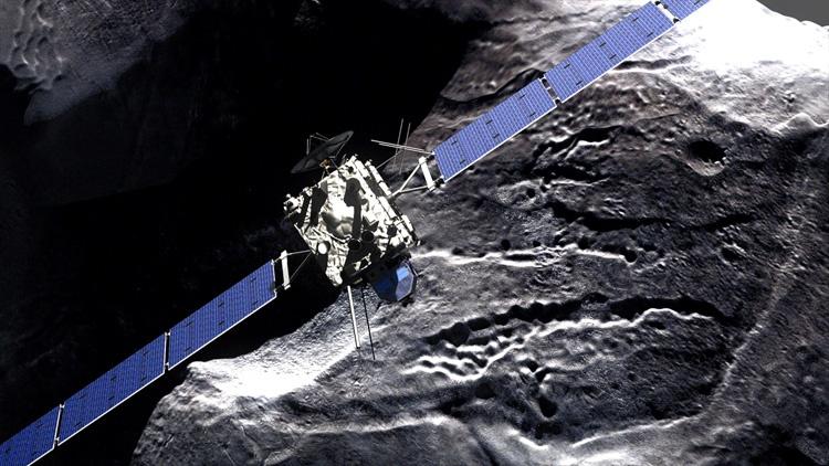 Команда проекта Rosetta предложила закончить миссию, посадив аппарат на комету в следующем году - 2
