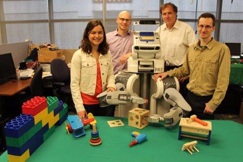 В США создали самообучающегося робота