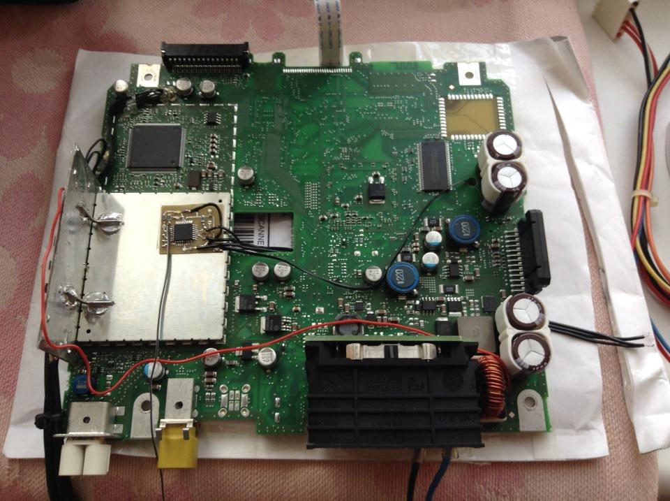 Выводим сигнал remote из автомагнитолы с управляемым по i2c усилителем - 6