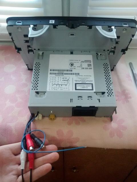 Выводим сигнал remote из автомагнитолы с управляемым по i2c усилителем - 9