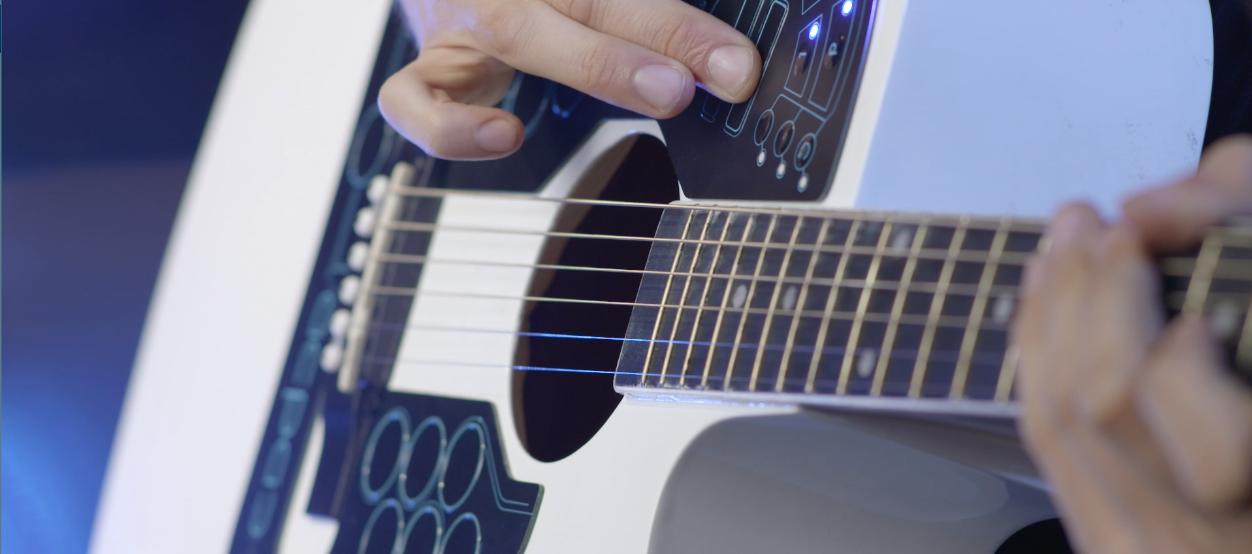 Гитара-оркестр скоро появится на Kickstarter - 2