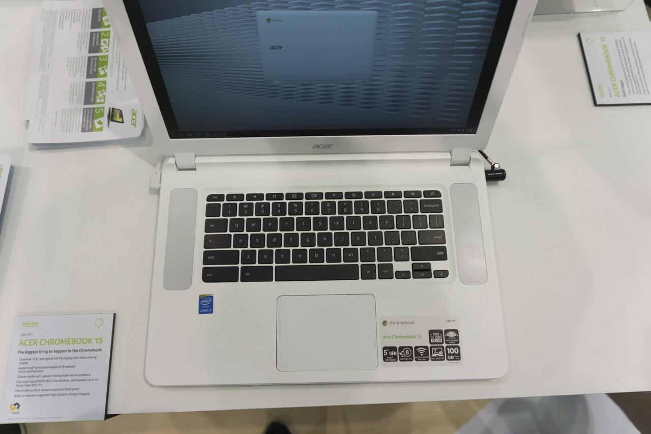 Acer на главной компьютерной выставке Computex 2015: Не ноутбуками едиными - 17