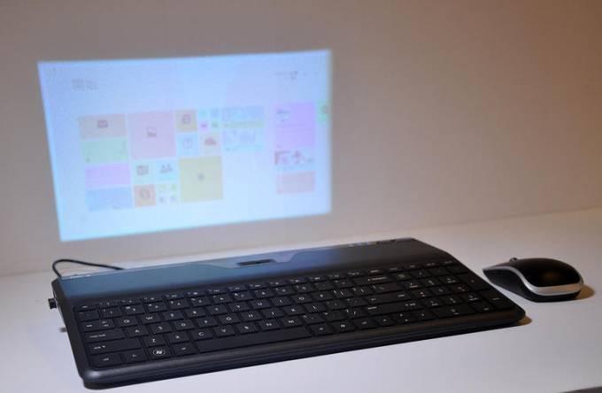 KoBoJet — клавиатура с проектором - 1
