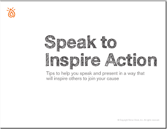 Speak to Inspire Action
