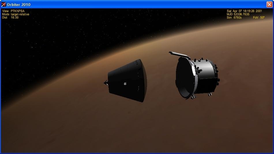 Сажаем перспективный российский корабль на Марс - 17