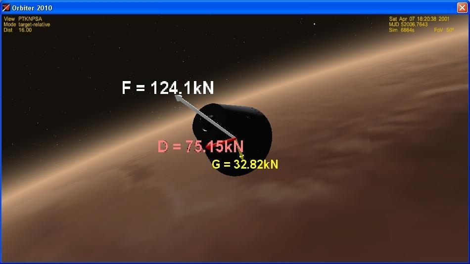 Сажаем перспективный российский корабль на Марс - 18