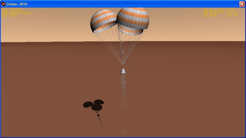 Сажаем перспективный российский корабль на Марс - 19