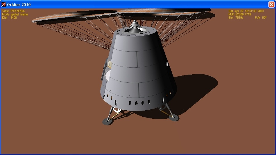 Сажаем перспективный российский корабль на Марс - 20