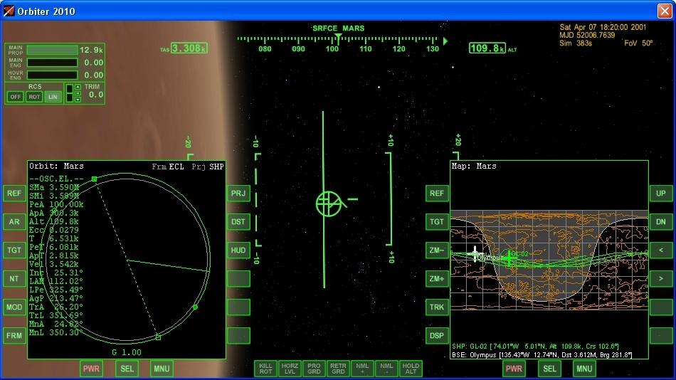 Сажаем перспективный российский корабль на Марс - 4