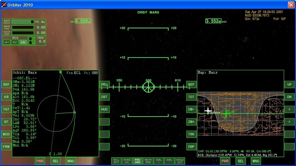 Сажаем перспективный российский корабль на Марс - 8