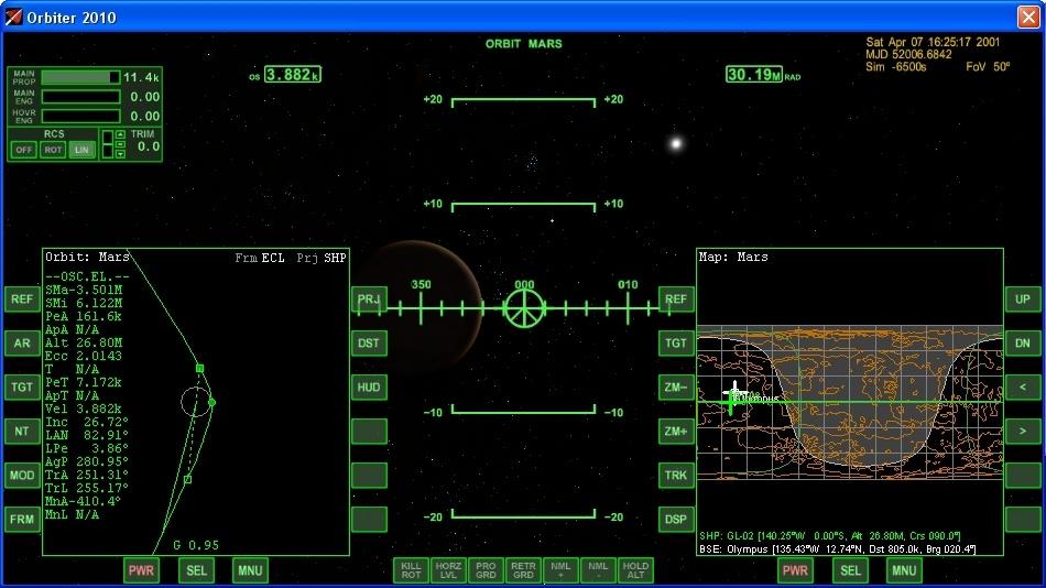 Сажаем перспективный российский корабль на Марс - 9