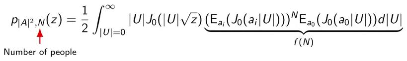 Wi-Fi, который умел считать до десяти: подсчёт голов по уровням сигнала - 2