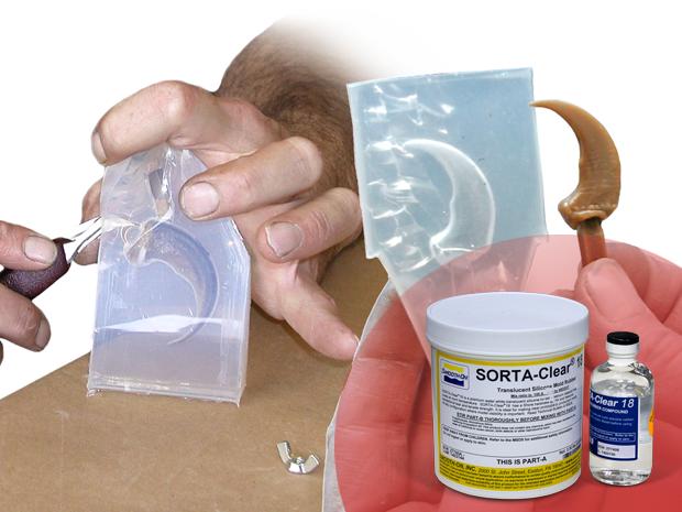 Как сделать силикон для форм в домашних условиях