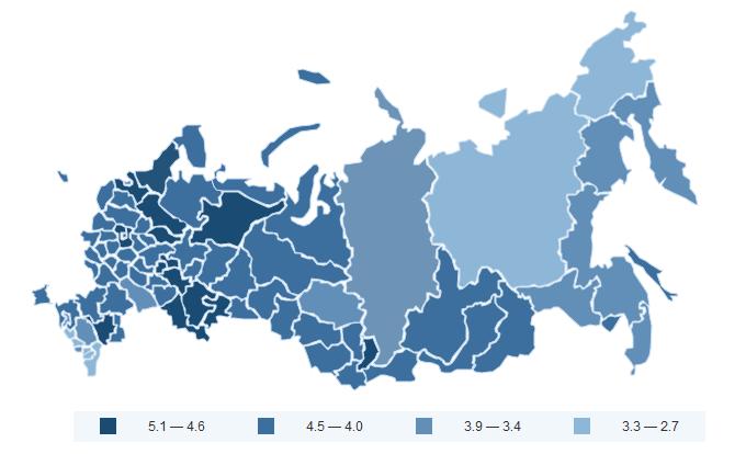 «Любовь и ненависть» на карте России, лето 2015: исследование эмоционального состояния 25 млн пользователей социальных медиа - 2