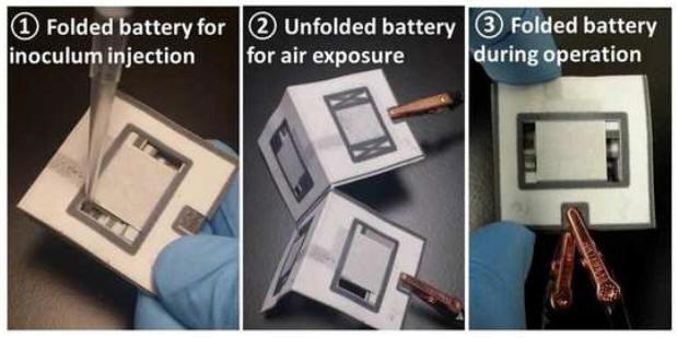 Американский инженер научился печатать на бумаге батарейки, работающие на грязной воде - 2