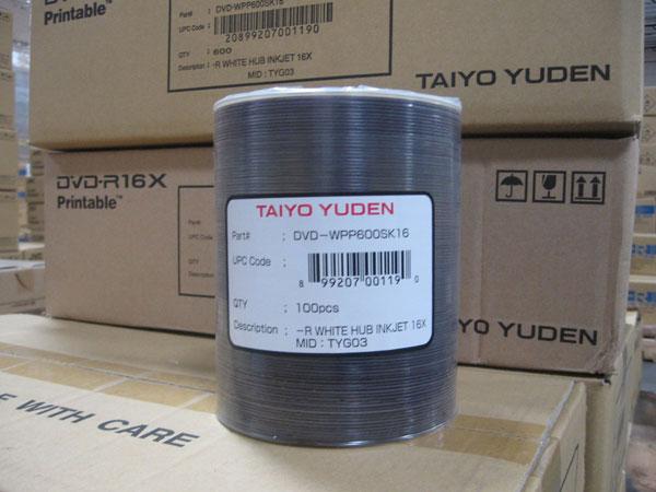 Производство оптических дисков являлось одним из ключевых направлений деятельности Taiyo Yuden