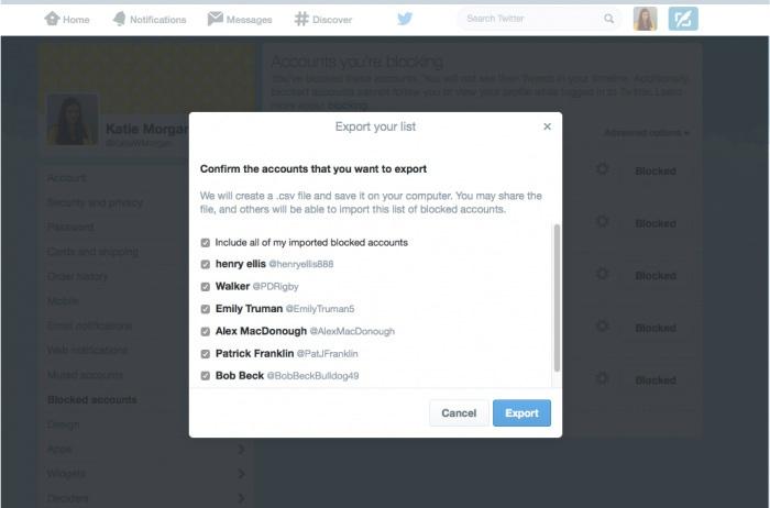Twitter внедрил коллективную блокировку ботов. Обмен чёрными списками между пользователями - 2