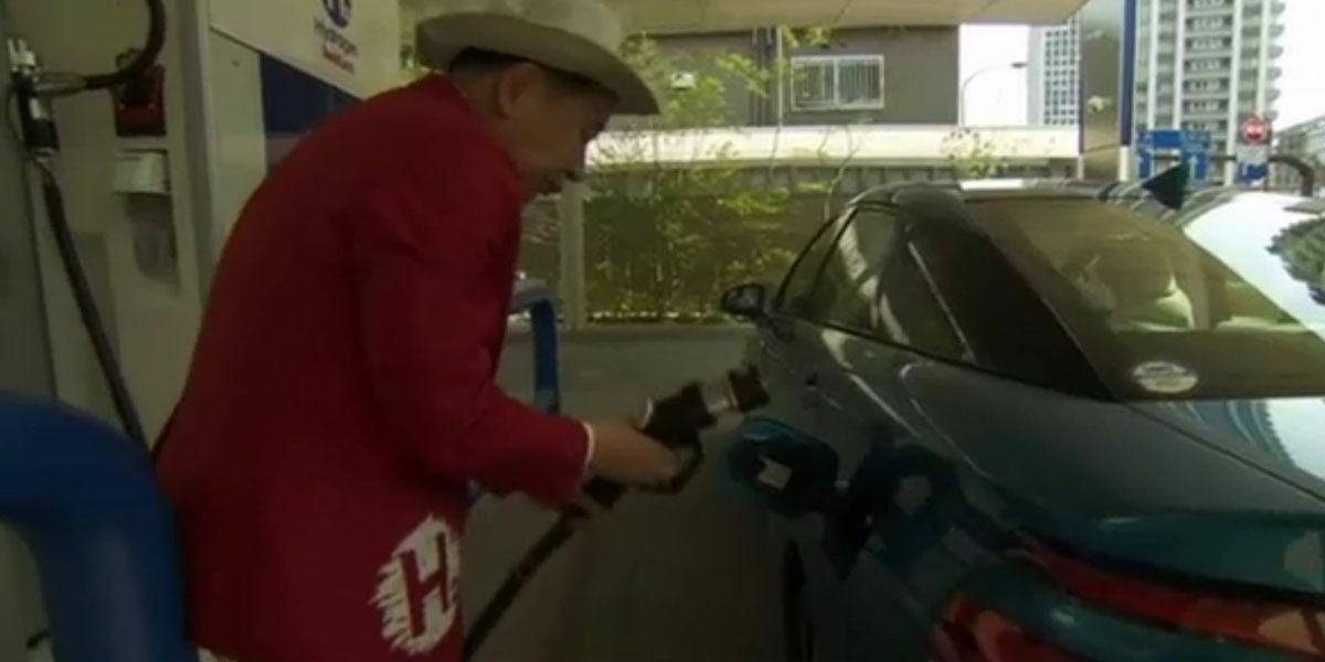 Mirai — это будущее. Первый в мире серийный автомобиль на водородном топливе. Если верить Toyota. Минифоторепортаж - 4