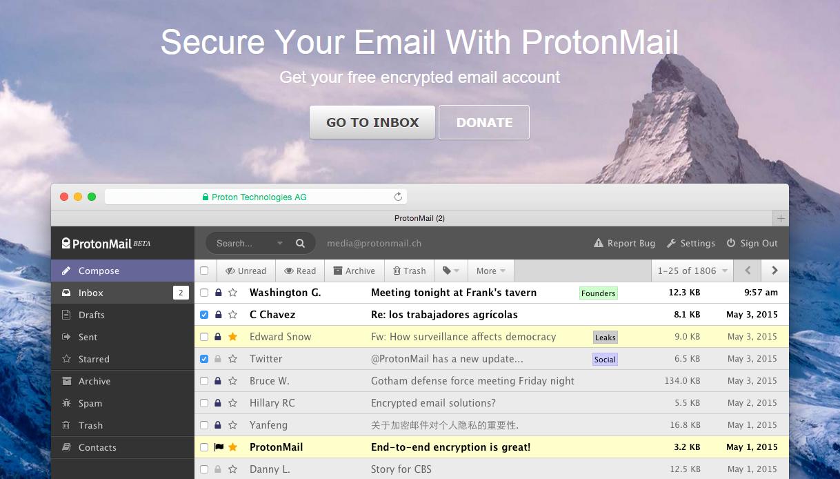 ProtonMail вышел из тени - 1