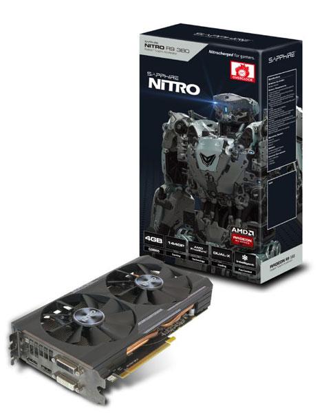 Многие 3D-карты серии Sapphire Radeon 300 очень похожи на модели предыдущего поколения