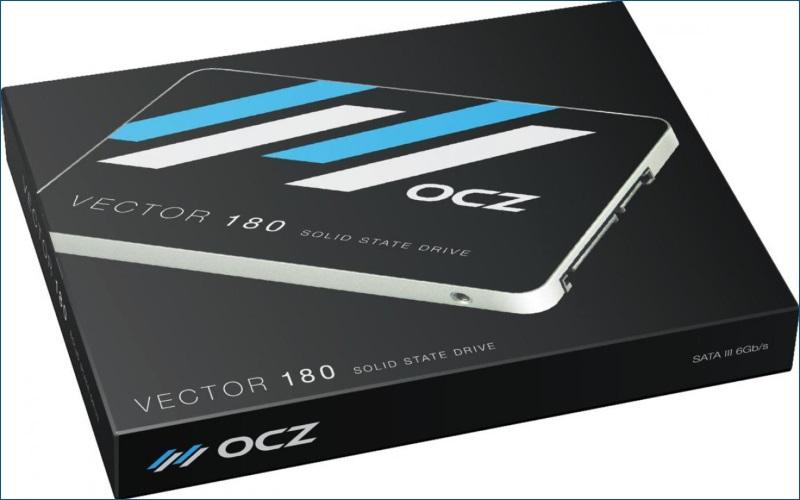 Тестирование твердотельного накопителя OCZ Vector 180 - 2