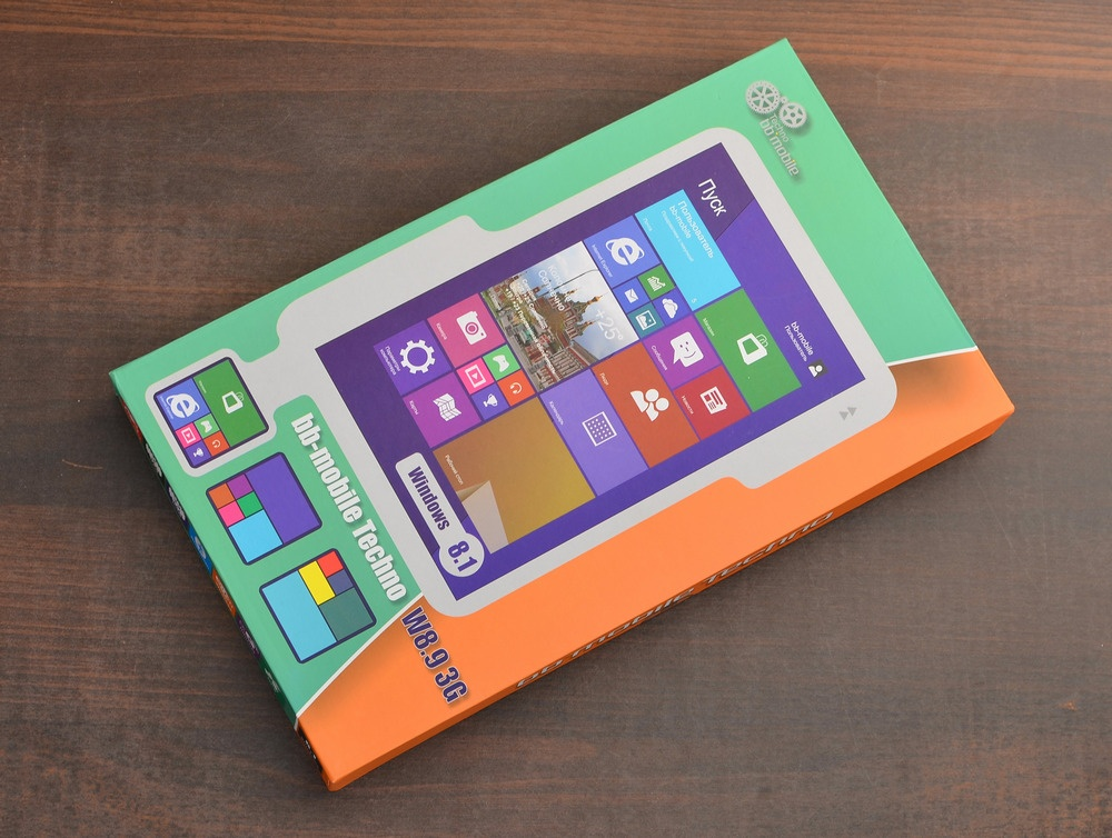 Тестируем bb-mobile Techno W8.9 3G: стеклянный 4х-ядерный планшет на Windows 8.1 - 2
