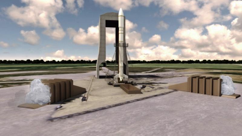 Airbus вступает в гонку повторно используемых ракет-носителей - 1
