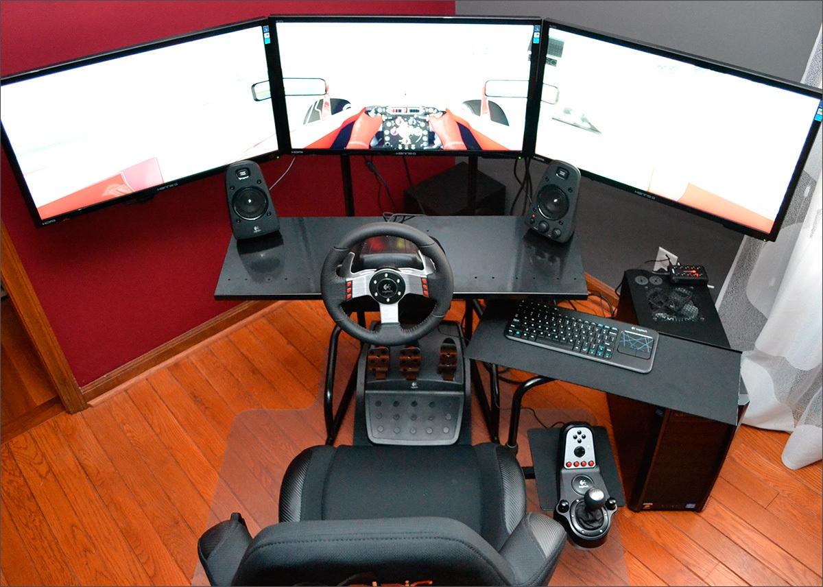 Logitech G27: когда хочется за руль спорткара. Часть 2 - 6