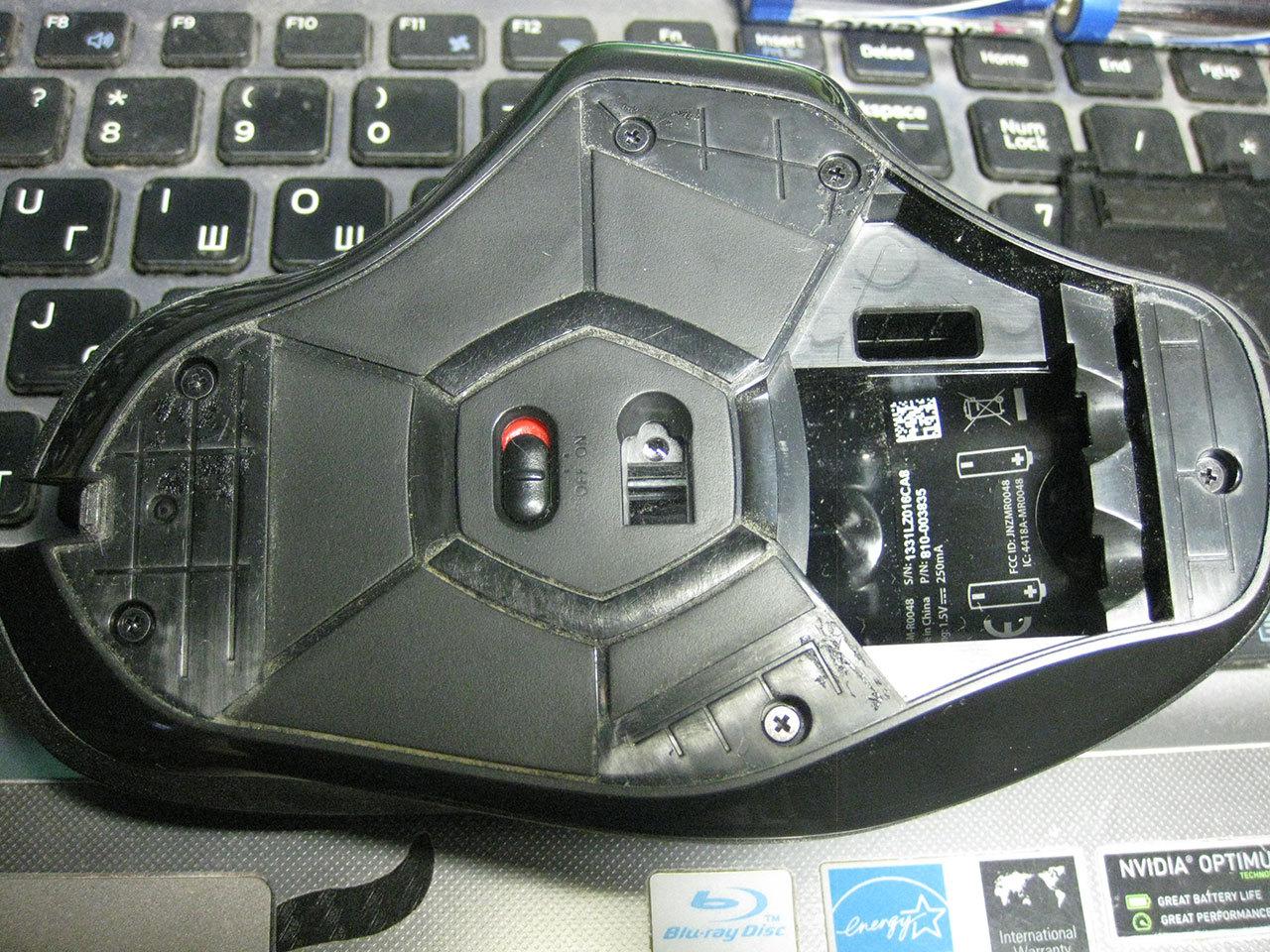 Замена умершей средней кнопки мыши Logitech G602 - 2