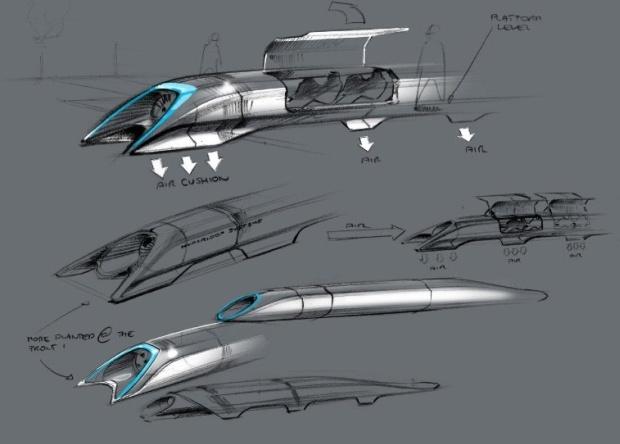 SpaceX планирует провести конкурс на лучший проект пассажирской капсулы для Hyperloop - 2