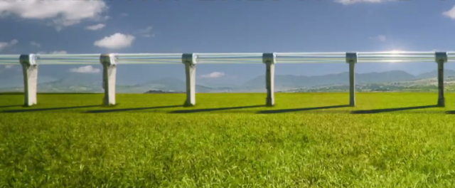 SpaceX планирует провести конкурс на лучший проект пассажирской капсулы для Hyperloop - 1