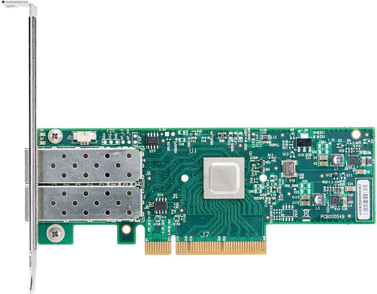 Адаптер Mellanox ConnectX-4 Lx предназначен для облаков, Web 2.0 и корпоративных вычислительных центров